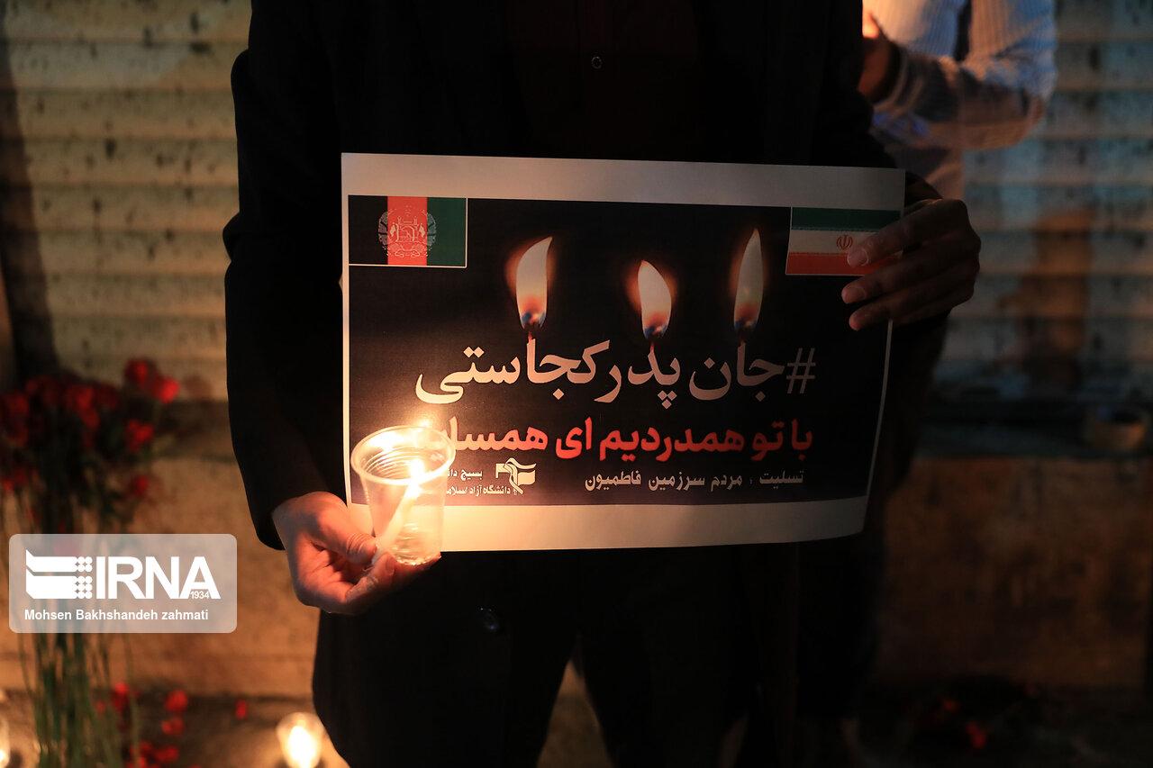 ابراز همدردی دانشجویان ایرانی
