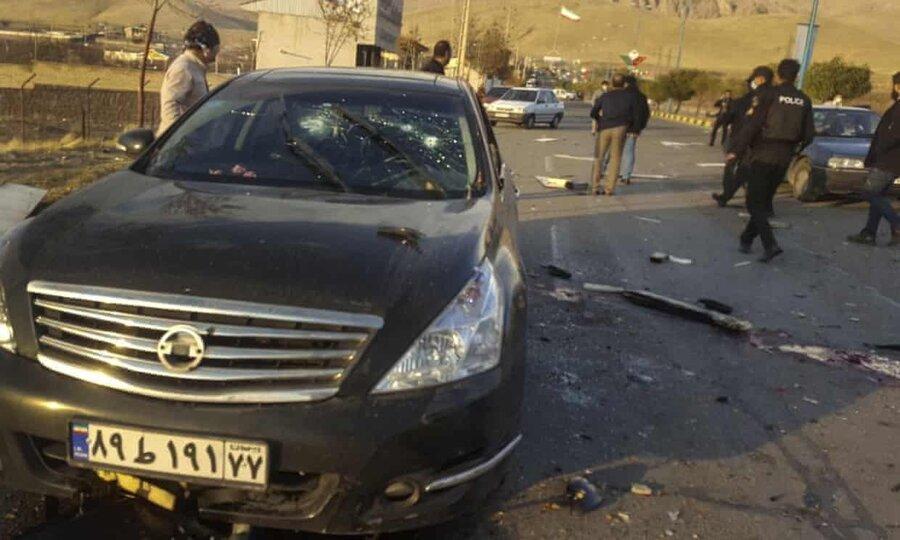 گزارش ترور محسن فخریزاده، از